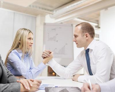 Konflikt am Meetingtisch