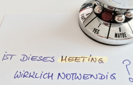 Effektivere Meetings – Dank neuer Trainingsmethode